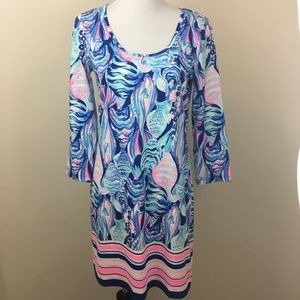 NWT Lilly Pulitzer Beacon T-Shirt Dress Scale Up M